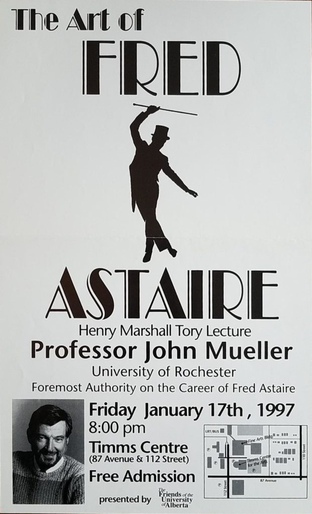 1997 01 17 Tory Lecture Poster