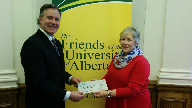 Friends of the University of Alberta Society Graduate Award