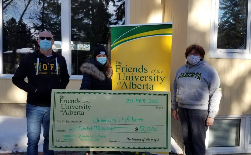 Big Cheque during a Pandemic