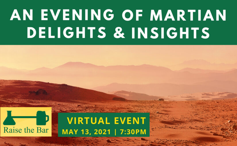 An Evening of Martian Delights & Insights